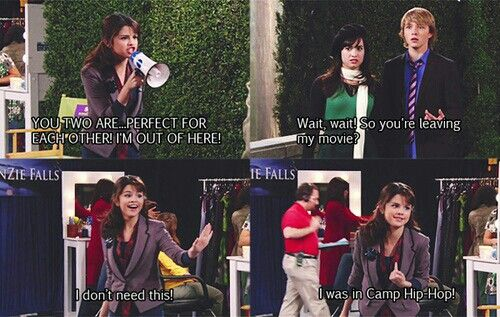 Selena G in sonny with a chance #SWAC