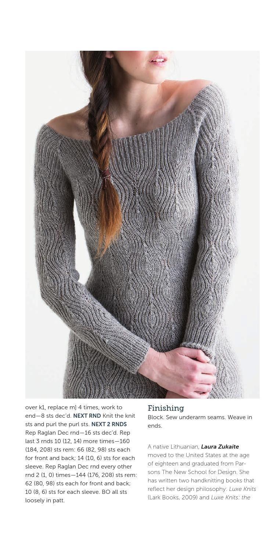 Diamond Rib Dress by Laura Zukaite #FreePattern http://www.ravelry.com/patterns/library/diamond-rib-dress