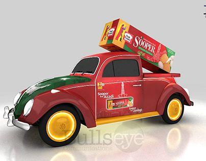 "Check out new work on my @Behance portfolio: ""Peek Freans Sooper volkswagen Beetle"" http://be.net/gallery/44574369/Peek-Freans-Sooper-volkswagen-Beetle"