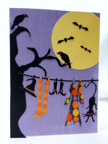 More Witch's Laundry by sherrird - Cards and Paper Crafts at Splitcoaststampers