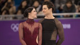 When Tessa Virtue and Scott Moir stepped onto the ice for what could be the final free dance of their...