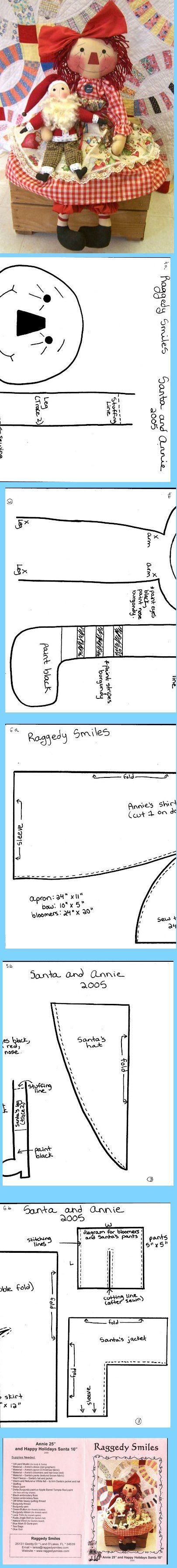 RAGGEDY SMILE X-MASS ANNIE