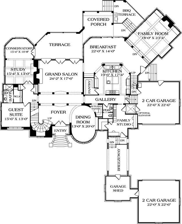 339 best Dream House Plans images on Pinterest   House floor plans ...