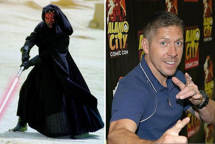 Ray Park who played Darth Maul