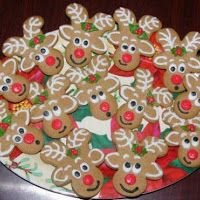 How to make cookies with Koupati reindeer gingerbread boy!