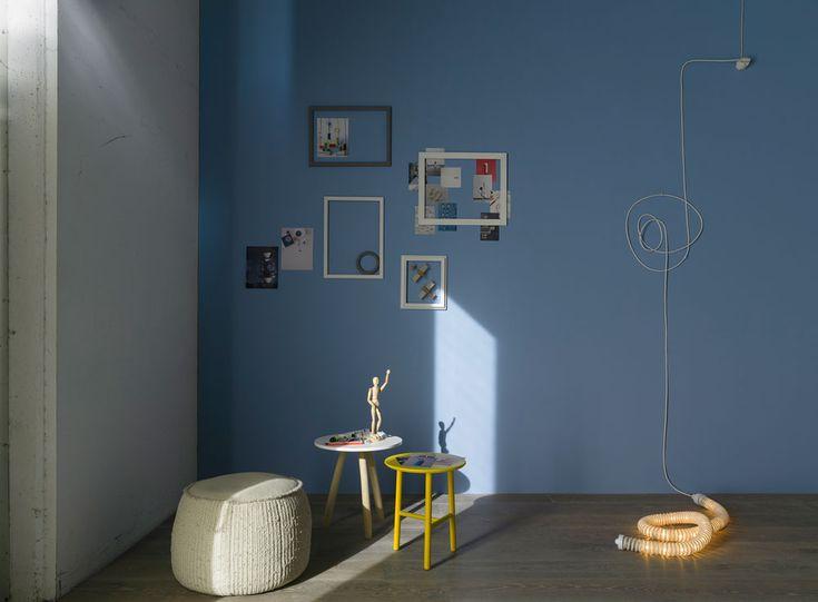 Pareti Colorate Di Azzurro : su Pareti Azzurro su Pinterest Colori ...