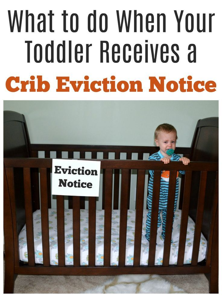 Great tips to help transition toddlers out of the crib and