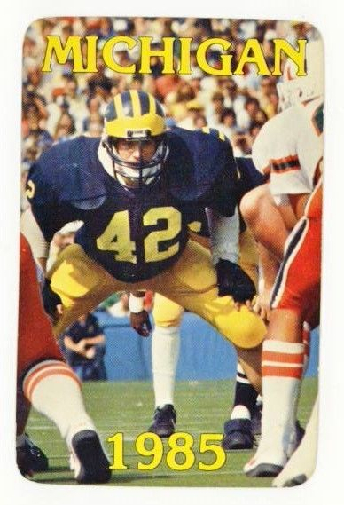 1985 michigan wolverines #Football schedule mike mallory from $3.99
