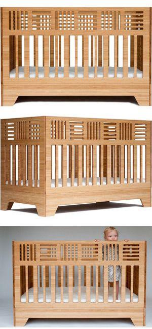 bamboo craftsman crib