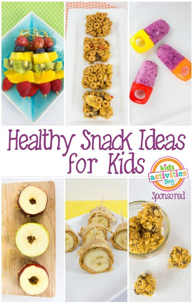 Healthy Snack Ideas for Kids! Perfect for moms on the go and those who just want to 'treat' their kids right! Click now!