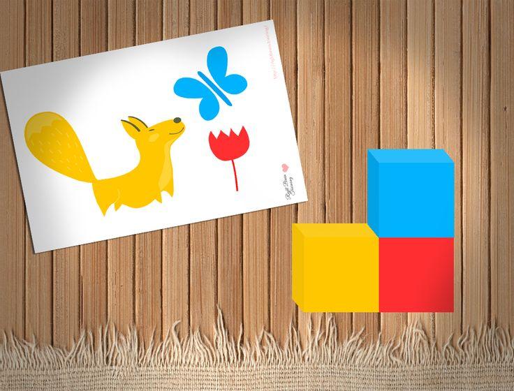 Игры с цветом - Занятия для раннего развития детей RightBrain.Training
