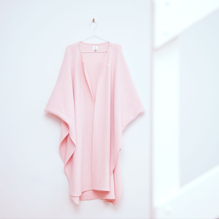 Pink Power Poncho