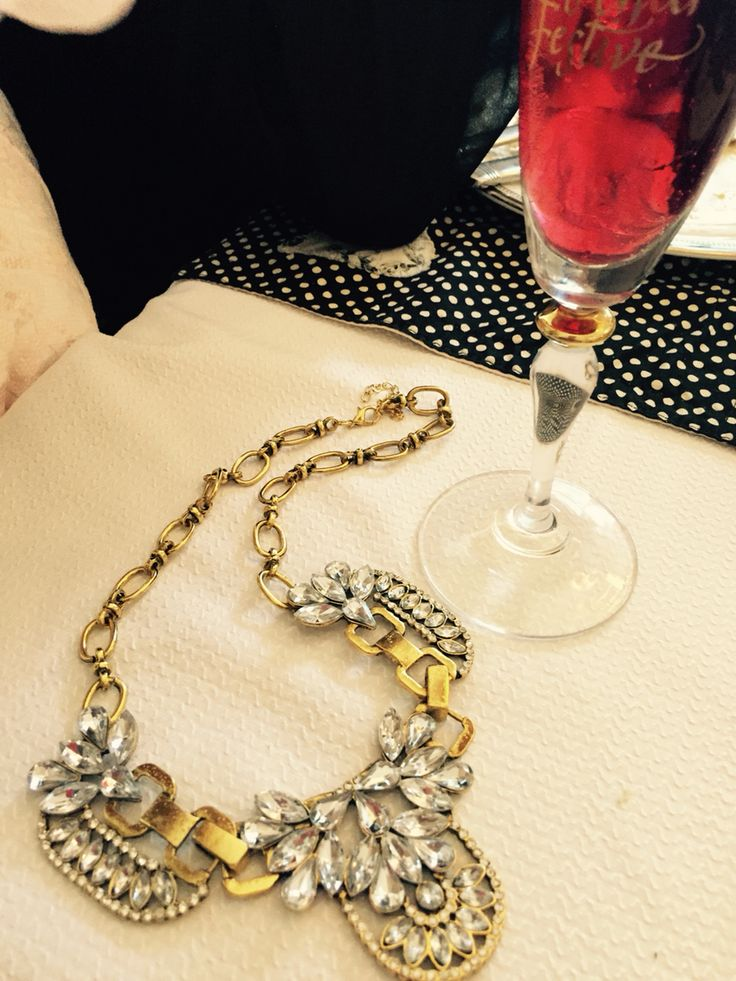 New Year's Eve style sparkle & shine Necklace, Statement