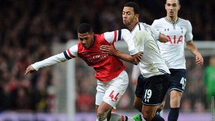 Arsenal 2 Tottenham Hotspur 0 - My MOTM Serge Gnabry. What a talent.