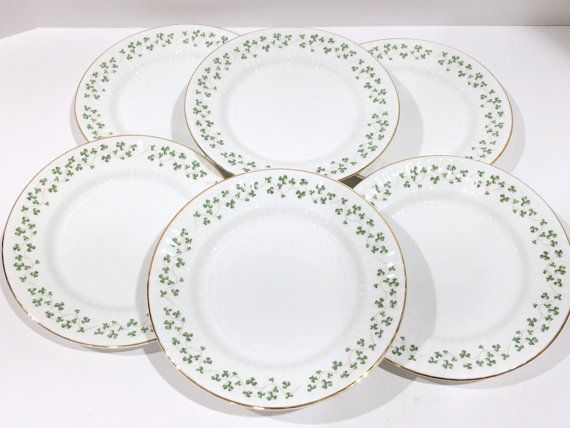 Royal Tara Set of 6 Plates Irish Plates Ireland Plates  sc 1 st  Pinterest & 27 best Irish Porcelain images on Pinterest | China Porcelain and ...