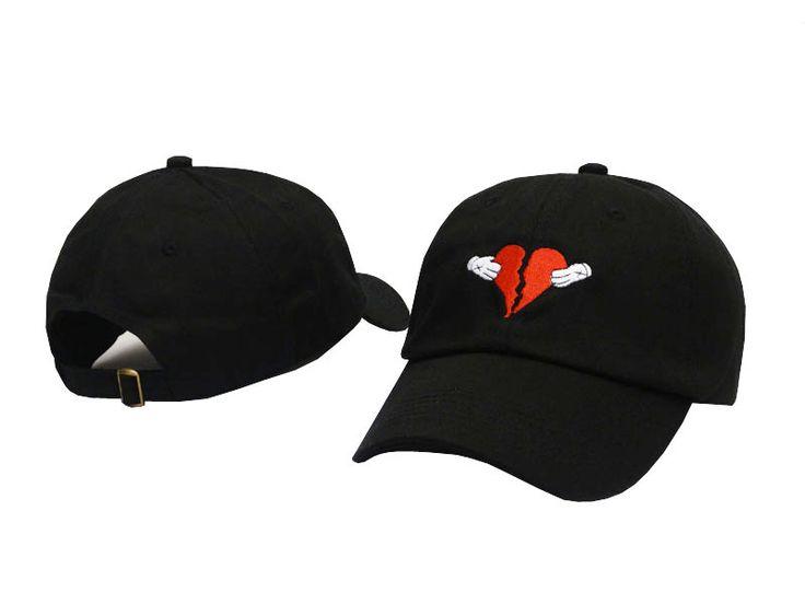 3340fe76693 Newest Kanye West Heart Break Album Cap Trend Hip Hop Dad Hat Snapback  Kanye Fashion King