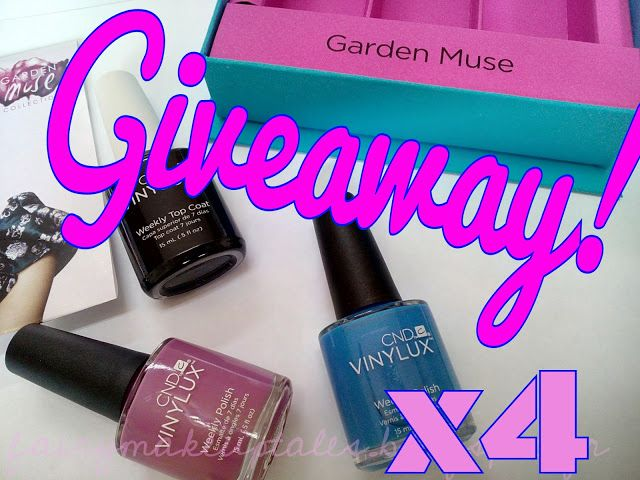 Fairy make-up tales . . . . : Win 4 Vinylux sets!
