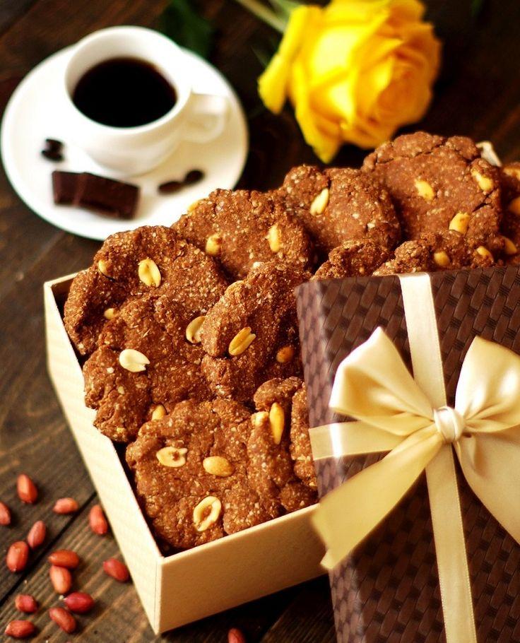 """Арахисовое диетическое ПП печенье """"Сникерс"""" - диетическое печенье - Полезные рецепты - Правильное питание или как правильно похудеть"""