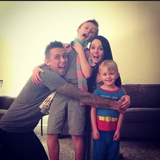 The Atwood family. Roman, Brittany, Noah, and Kane.