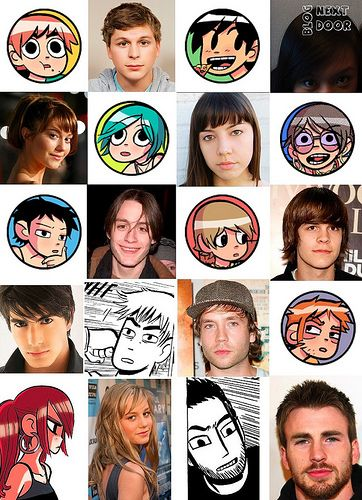 The casting for the movie and how the characters were brought to life - Scott Pilgrim