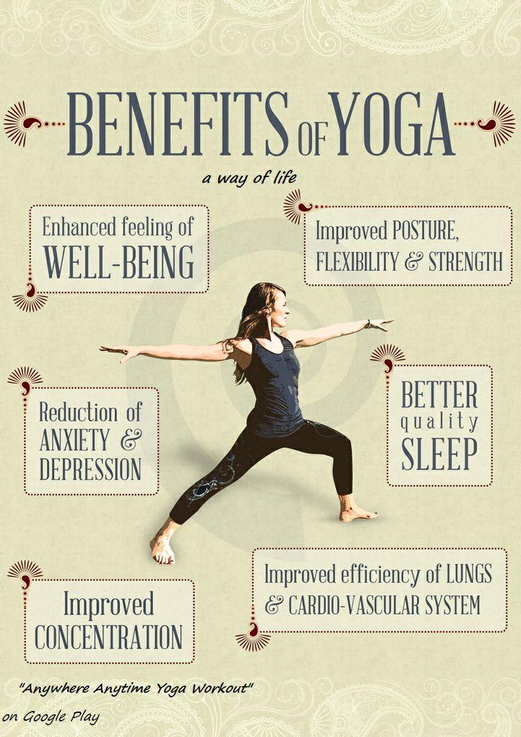 Benefits of Yoga. | Exercises | Pinterest