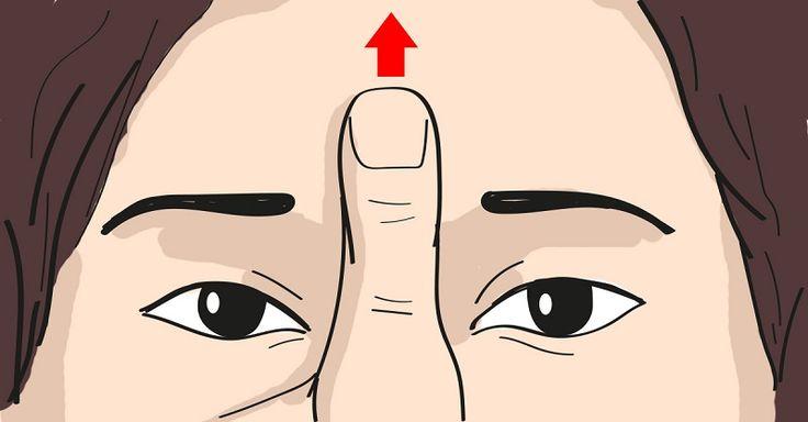 Массаж от головной боли: всего 45 секунд и эффект потрясающий! - МирТесен