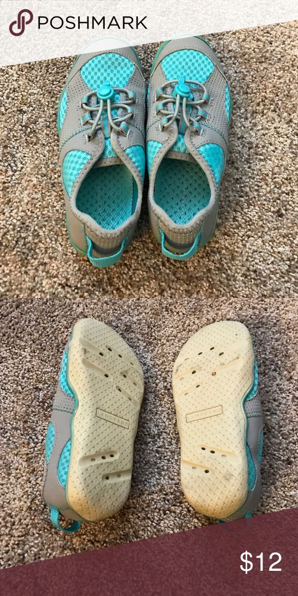 Girls water shoes Teal little girls water shoes Lands' End Shoes Water Shoes