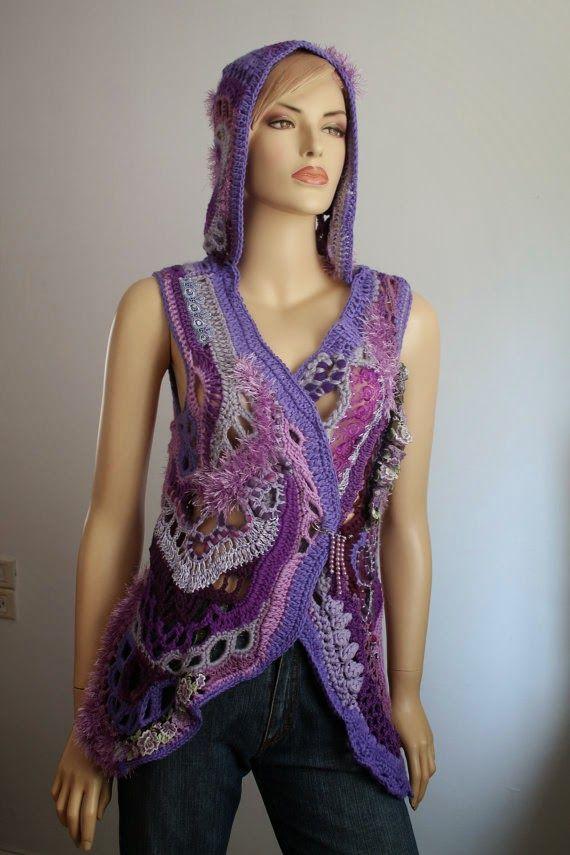 Irish crochet &: Фриформ из Израиля