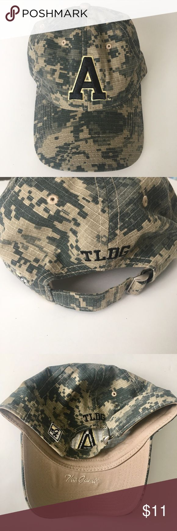 """NWOT """"A"""" Camouflage Adjustable Hat NWOT """"A"""" Camouflage Adjustable Hat  •New without tags •Adjustable back  Ships same or next day from a Smoke-Free home! Accessories Hats"""