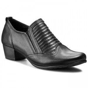 Polobotky MARCO TOZZI - 2-24303-25 Black Antic 002