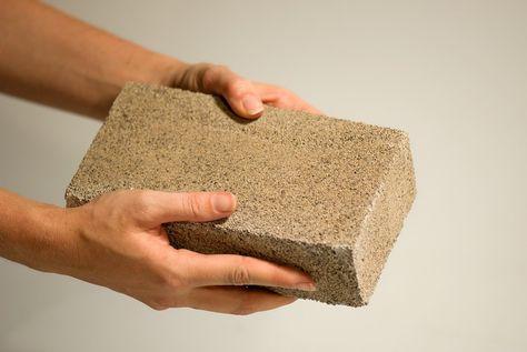 Bricks Grown From Bacteria #cradletocradle #materialporn