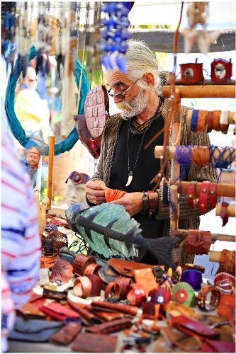 Las Dalias Hippy Market - Balearic Island of Eivissa (Ibiza) Spain