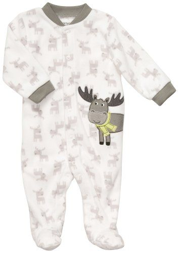 Carter's Infant Boys Microfleece Snap Front Sleep « Clothing Impulse