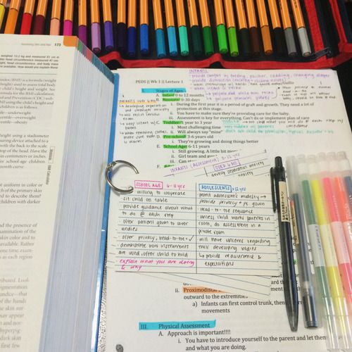 study notes / inspiring study pictures