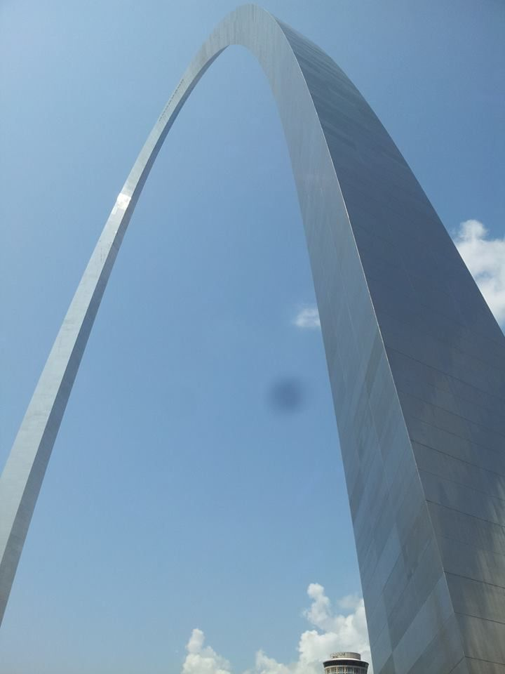 St. Louis Missouri Arch visited again on 7/20/13