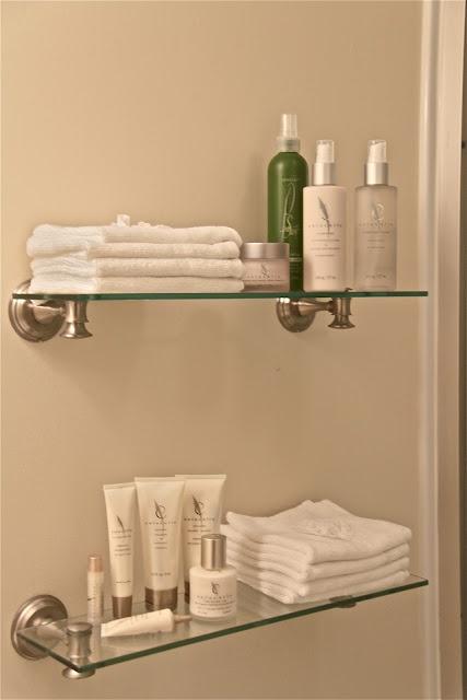 Amazing Wall Floating Bath Shelf Amp Towel Holder  Target
