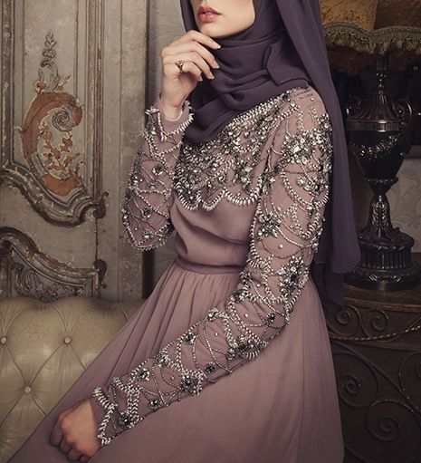 SUREHA EVENING GOWN - £230.00 : Inayah, Islamic clothing & fashion, abayas, jilbabs, hijabs, jalabiyas & hijab pins
