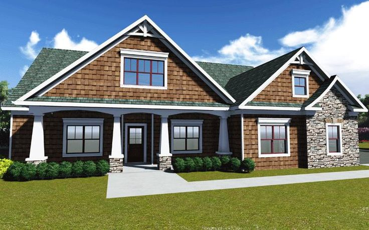 house plan 009 00072 craftsman plan 1946 square feet 3 bedrooms 2 bathrooms craftsman style and house - Best House Plans