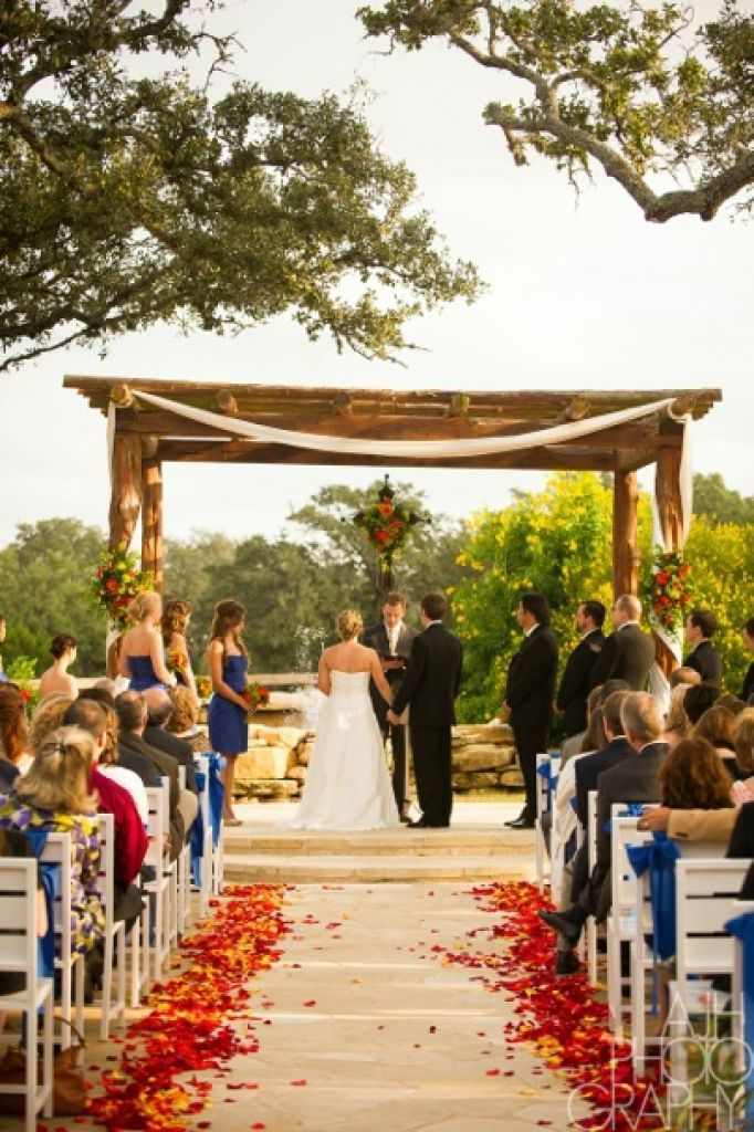 Memory Lane Dripping Springs Contact: 512-894-0700 Website: memorylaneweddings.com This countryside venue made of cedar and stone can accommodate up to 15 overnight guests. Photo: Courtesy Memory Lane