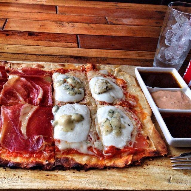 Hoy martes te recordamos que tenemos nuestras pizzas, pastas (pomodoro, hongos, pesto) y ensaladas en $49 pesos durante todo el día! Terranova 648   Punto Medio Restaurant in Guadalajara, Jalisco