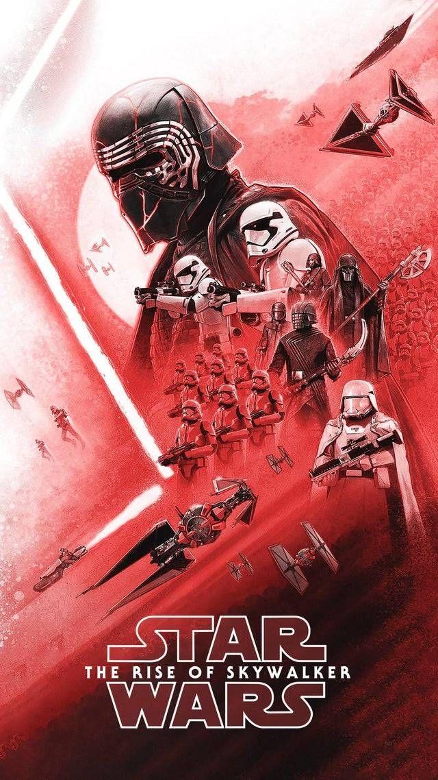 Another, redder variant of the Star Wars Rise of Skywalker Insider magazine post…