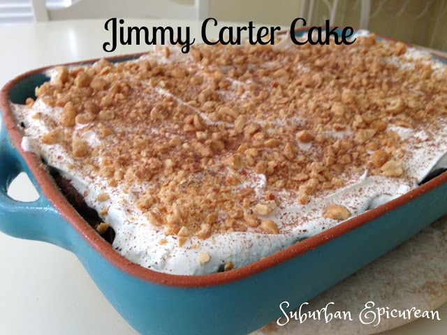 Jimmy Carter Cake (Chocolate and Peanut Butter dessert) by Suburban Epicurean