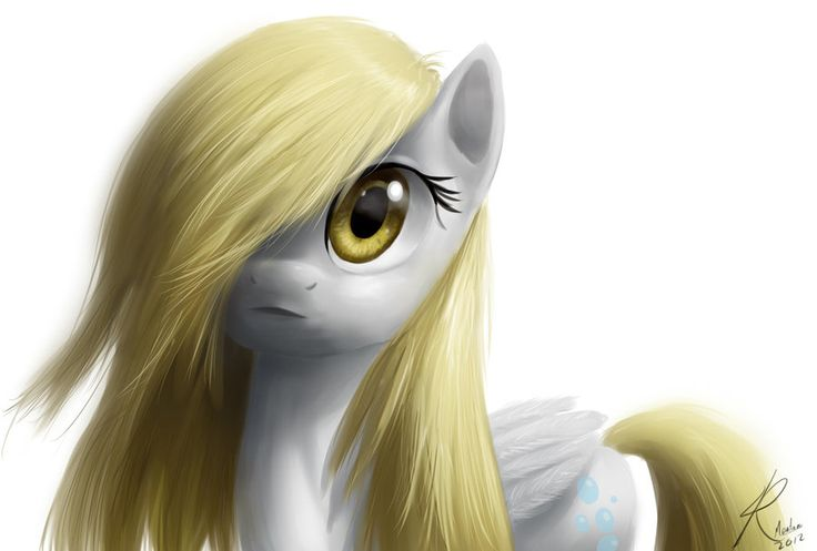 Derpy at her most angelic. <3