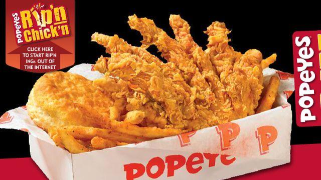 mmmmm!Popeyes Fried Chicken Chips foodista.com