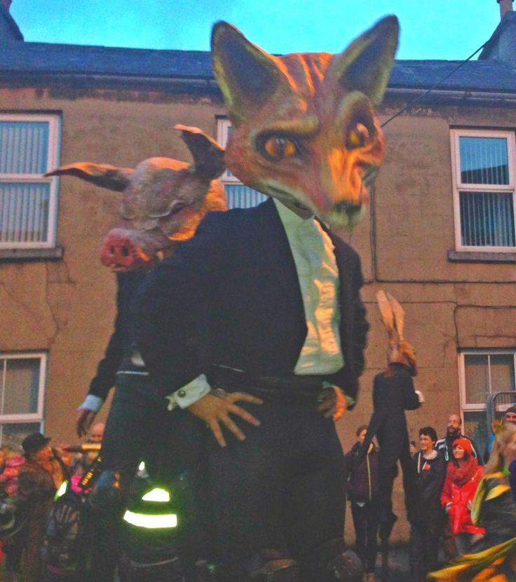 Galway Macnas Parade 2013