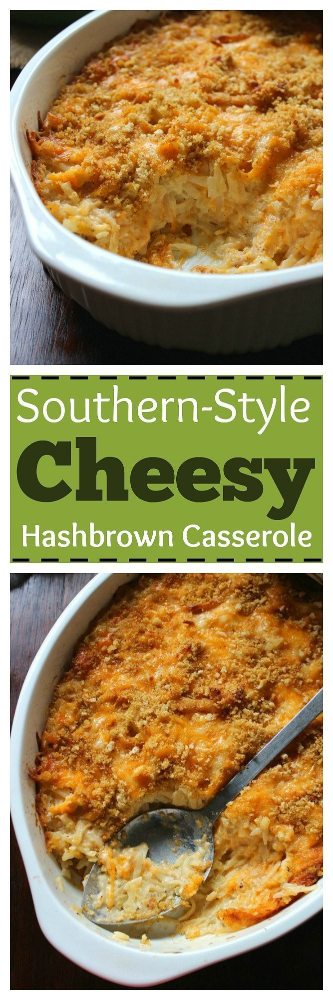 Southern-Style Cheesy Hashbrown Casserole is one of the ultimate comfort food casseroles that I make, this one hasabsolutelyno canned soup, is made with chunky-style hashbrowns or shredded, deli…