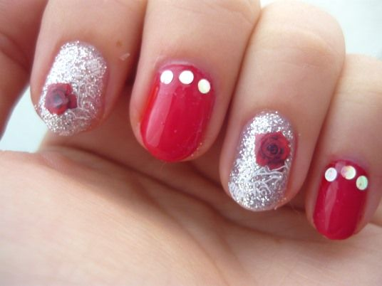 Nail Of The Day - Lovely Roses - feat Born Pretty Store -  10% discount code RQX31