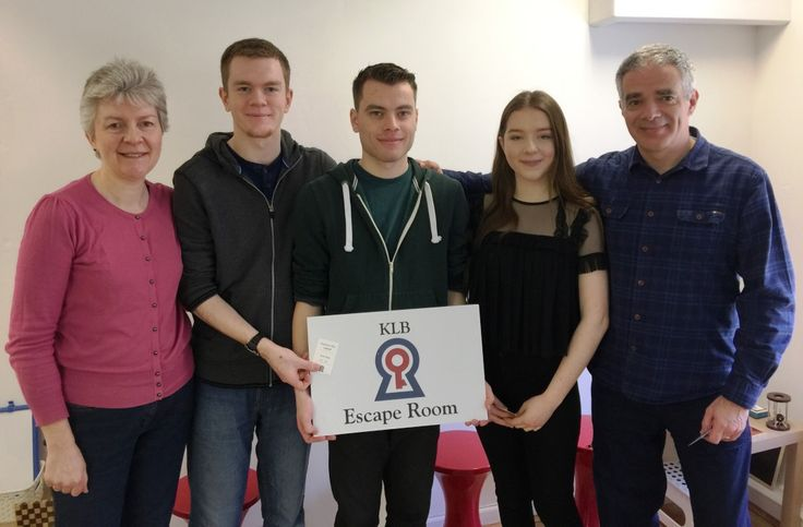 Team Wheway Escape The Room in 43 Minutes   KLB Escape Room