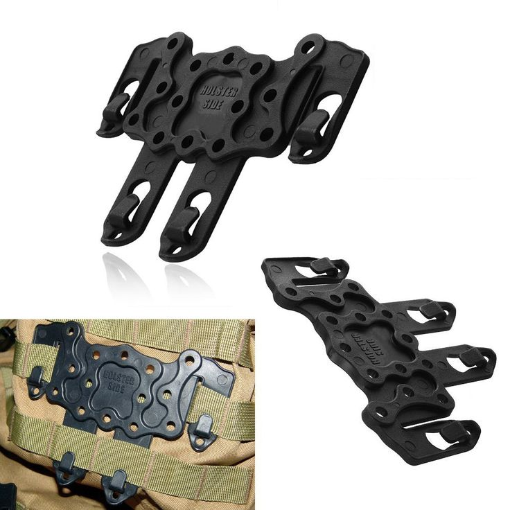 Tactical Strike Plastic CQC Platform Molle Attaching Hanger For Utility Vest Belt MOLLE holster Platform fits USP Compact M9 G17 #Affiliate