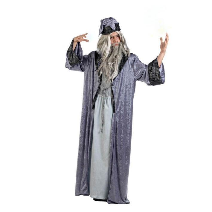 Disfraz de mago hechicero para hombre